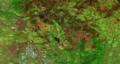 Santa Rosa, California, November 28, 2017, Landsat 8, bands758 and 2016 NIAP orthophoto overlay.tif