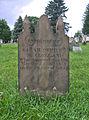 Sarah Officer McClelland Tombstone, Oak Spring Cemetery, 2015-06-27, 01.jpg