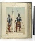 Sargento Infanteria de linea; Coselete ó piquero Infanteria de linea. (Año 1560) (NYPL b14896507-87467).tiff
