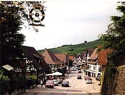 Main street in Sasbachwalden , District of Ortenau, Baden-Wuerttemberg
