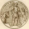 Sceau de Jean IV - Duc de Bretagne.png