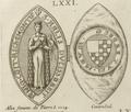Sceau et contre-sceau de Alix de Thouars, duchesse de Bretagne.png
