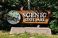 Scenic State Park Entrance Sign - Minnesota (35779188462).jpg