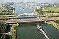 Schelde Rijnkanaal scheepvaart brug A58 spoorbrug Kreekraksluizen ID407499.jpg