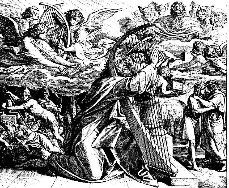 Schnorr von Carolsfeld Bibel in Bildern 1860 136