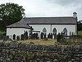Schoolhouse in the churchyard at Yystrad Meurig (geograph 2730419).jpg