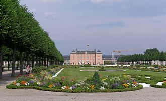 Schwetzingen Palace - Parterre in the formal garden