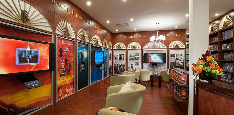 Pseudoscience: A Scientology Center.