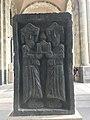Sculpture exposée devant le musée d'histoire (Erevan).JPG