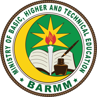 Ministry of Basic, Higher and Technical Education (Bangsamoro)