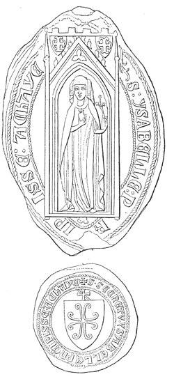 Seals of Isabella of Villehardouin (Schlumberger, 1897).jpg
