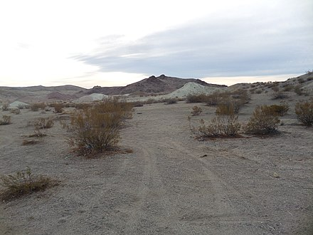 A typical desert scene near Searles, California area. Jan 2019. Searles, CA Mojave Desert.jpg