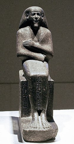 Seated figure of Montemhat, governor of the district of Thebes.jpg