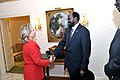 Secretary Clinton Shakes Hands With Sudanese Vice President Kiir (5016186047).jpg