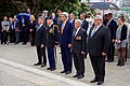 Secretary Kerry Pauses Before Laying a Wreath at the Tomb of the Unknown Warrior at Pukeahu National War Memorial Park (30912365646).jpg