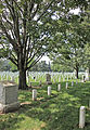 Section 17 NW at Confederate Monument - Arlington National Cemetery - 2011.JPG