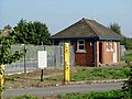 Security Gate at Longreach Works - geograph.org.uk - 48905.jpg