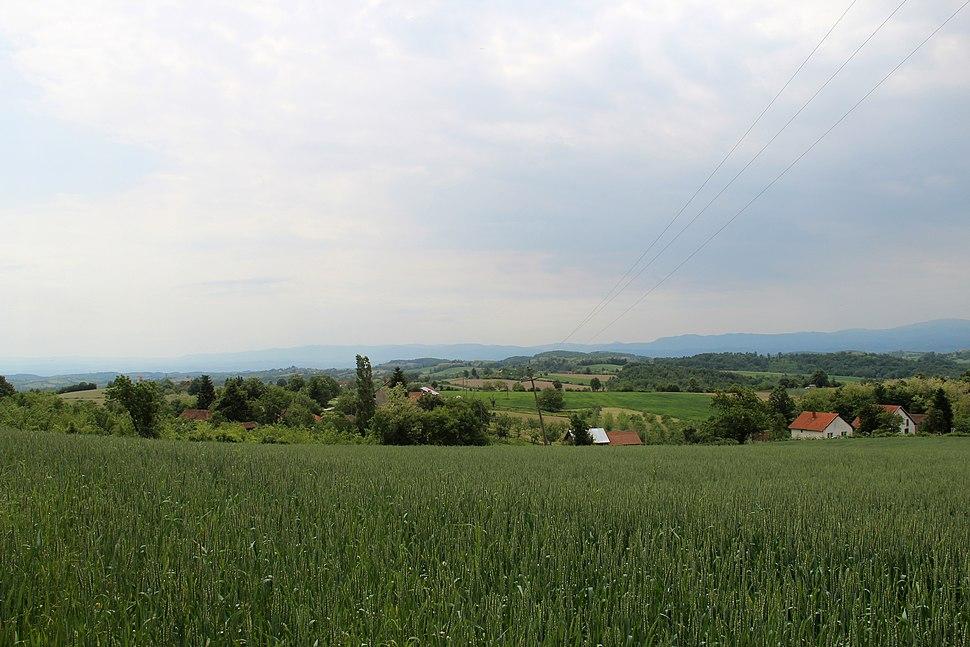 Selo Rabas - opština Valjevo - zapadna Srbija - Panorama 5