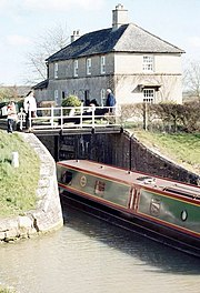 Several moorings and a narrow boat rental business on the Kennet and Avon canal attract frequent pleasure craft traffic