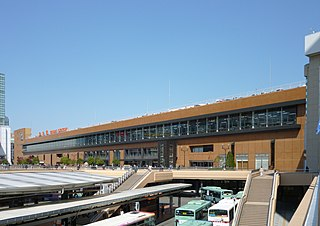 Sendai Station (Miyagi) Major railway and metro station in Sendai, Japan