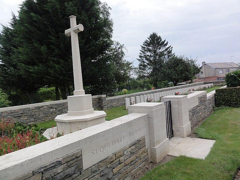 Sequehart British Cemetery nr 1 (Aisne)