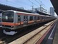 Series E231-900 MU1 in Kaihin-Makuhari Station 01.jpg