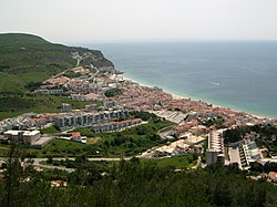 Skyline of Sesimbra