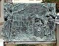 Sesto fiorentino, lapide ai caduti per i moti del pane del 1898, con lapide del 1909 ricostruita, e ripristinata nel 1985, 02.jpg