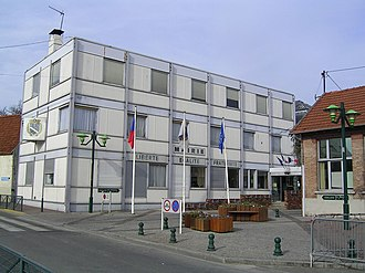 Sevran - Sevran town hall in 2007
