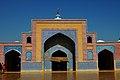 Shah Jahan Mosque fecade , Thatta by Usna Ghanu.jpg