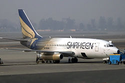 Shaheen Air International Boeing 737-200 (edit).jpg