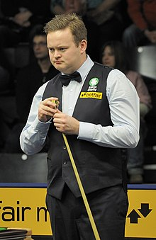 Shaun Murphy at Snooker German Masters (DerHexer) 2013-01-30 04.jpg