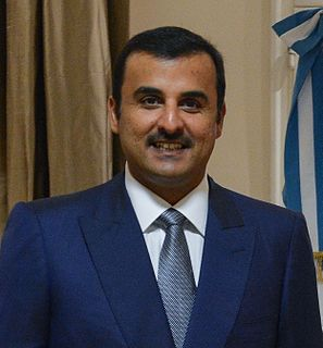 Amir of Qatar since 25 June 2013