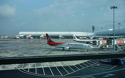 chongqing airport to pier