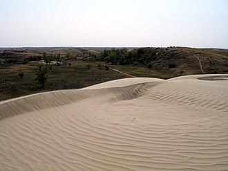 Leader, Saskatchewan - Great Sand Hills