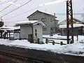Shinano-Takehara Station snowy winter - 2011-1-26.jpg