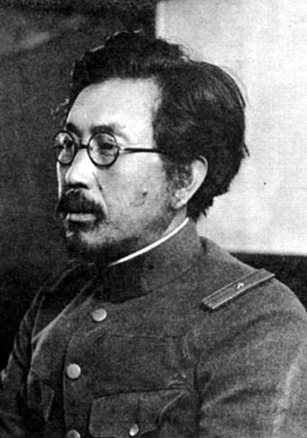 Shiro Ishii, commander of Unit 731, which performed live human vivisections and other biological experimentation. Shiro-ishii.jpg