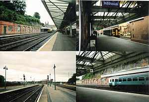 Shrewsbury railway station - Some shots of Shrewsbury station and the signal box in 2010.