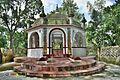 Shrine besides Small mound on the Eastern bank of River Tulshiganga.jpg
