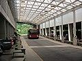 Shuttle bus at BWI Rail Station, June 2008.jpg