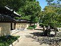 Sidewalk of Jotenji-dori Street near Chumon Gate of Jotenji Temple.jpg