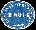 Siegelmarke Gemeinde - Verwaltung Schwabing W0235134.jpg