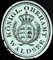Siegelmarke Königliches Oberamt Waldsee W0228001.jpg