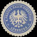 Siegelmarke K.Preuss. Salin-Direction Lüneburg W0338657.jpg