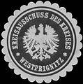 Siegelmarke Kreisausschuss des Kreises Westprignitz W0391038.jpg