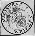 Siegelmarke Magistrat Wriezen W0313382.jpg