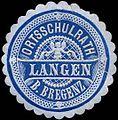 Siegelmarke Ortsschulrat Langen bei Bregenz W0261780.jpg