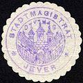 Siegelmarke Stadtmagistrat - Jever W0229284.jpg