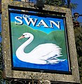 Sign for the Swan - geograph.org.uk - 1687437.jpg