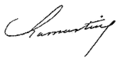 Signatur Alphonse de Lamartine.PNG